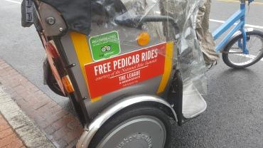 FREE pedicabs