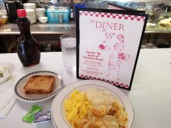 All Day Breakfast at Diner on 55th