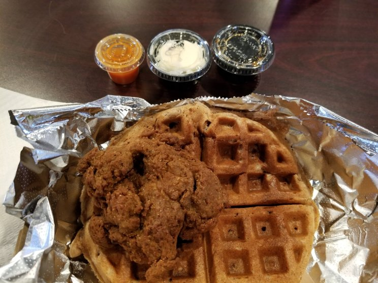 Chicken & Waffles - VEGAN